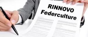 Rinnovo Federculture